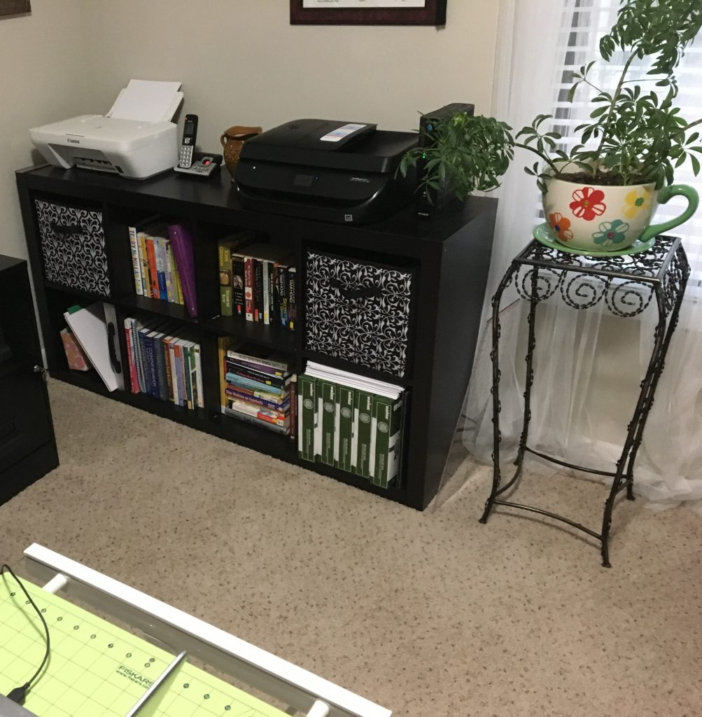 Decluttering for a move using the KonMari method - a storage unit