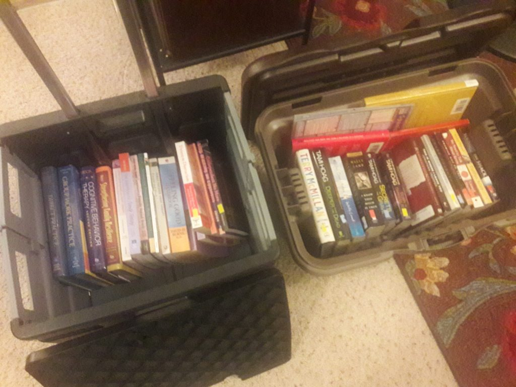 Decluttering Books with the KonMari Method