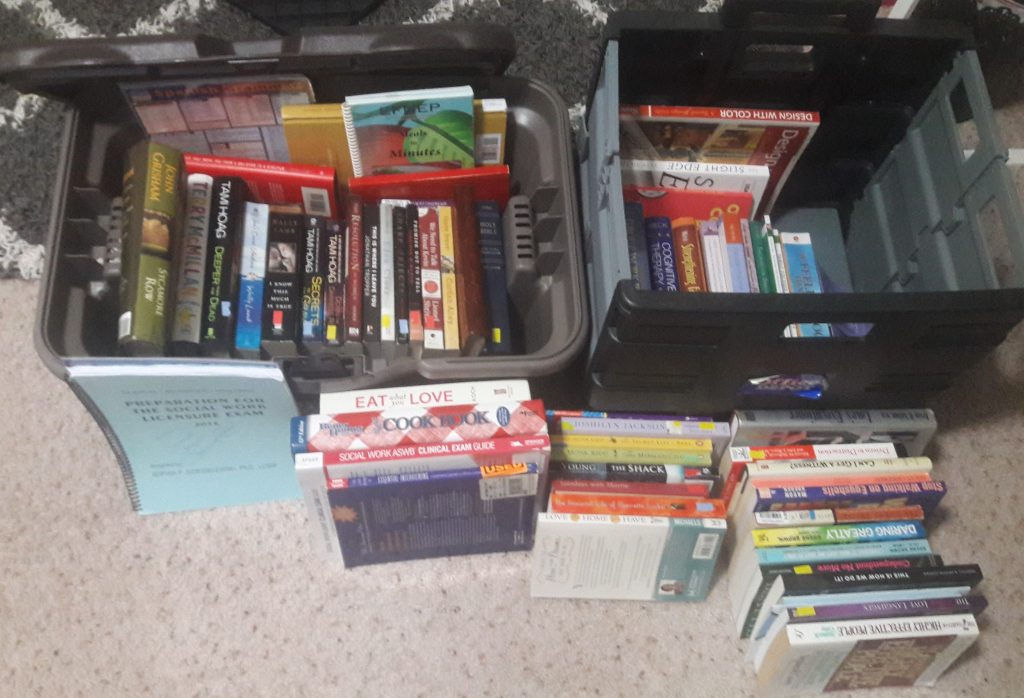 Purging Books With The KonMari Method