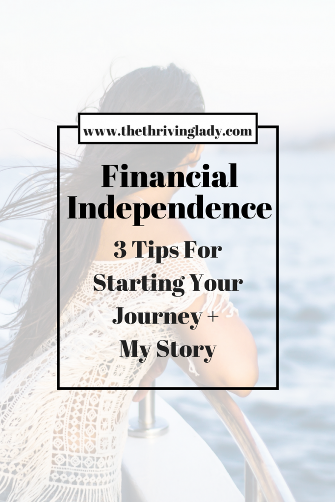 Financial Independence Journey Tips