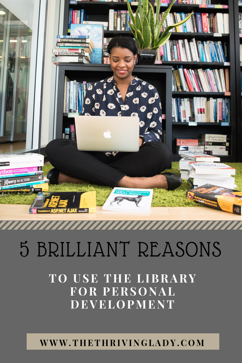 5 Reasons To Use The Library For Personal Development