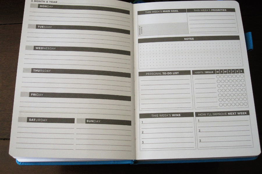 Goal-Setting and Time Management with the Clever Fox Planner