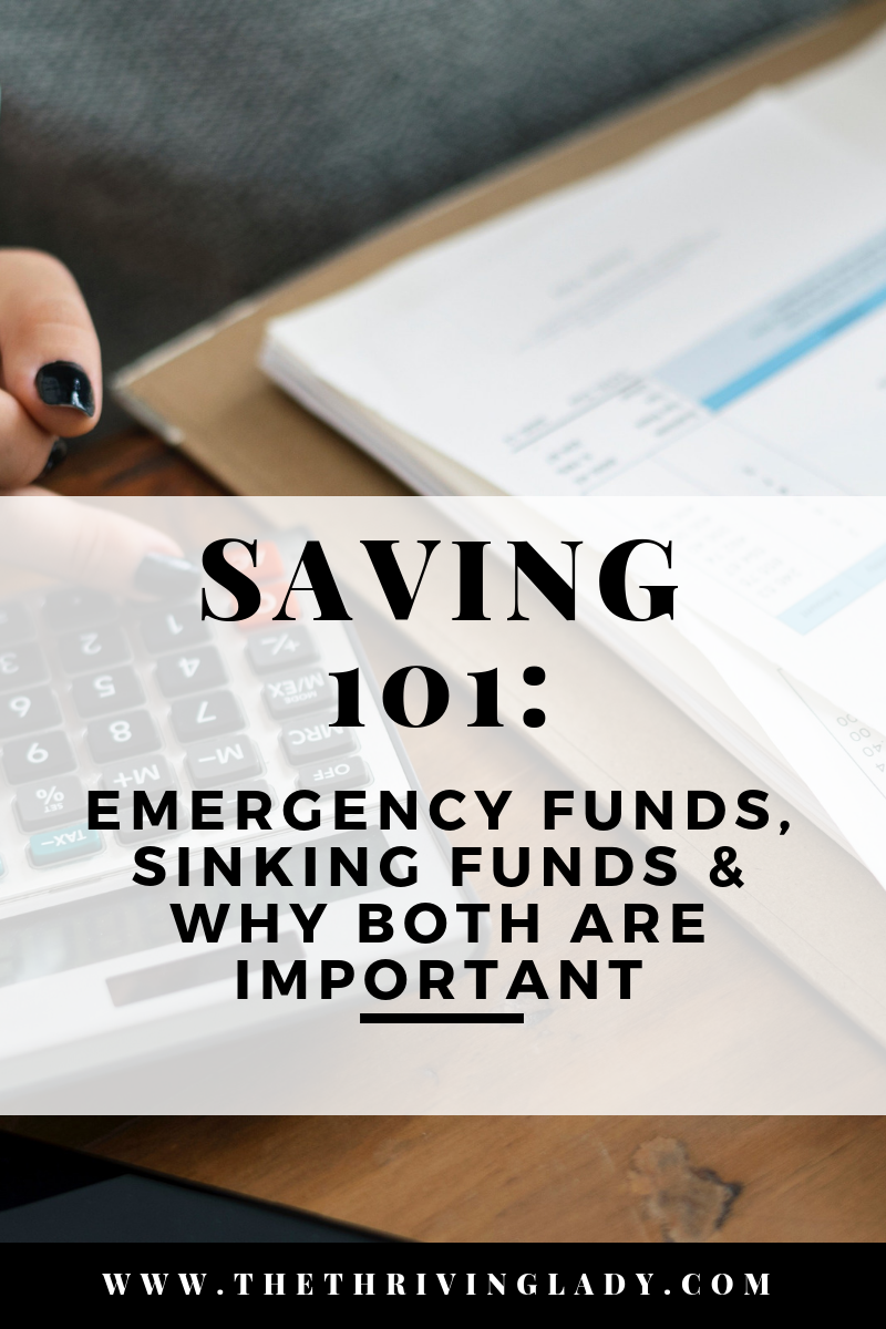 Emergency Funds & Sinking Funds