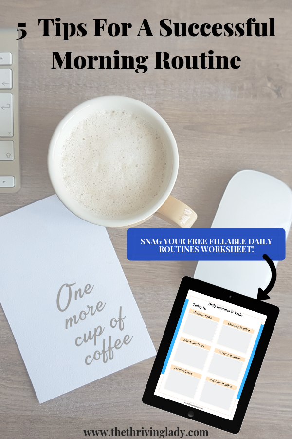 """Picture of a desk with a cup of coffee, a laptop, and a note that reads """"one more cup of coffee."""""""