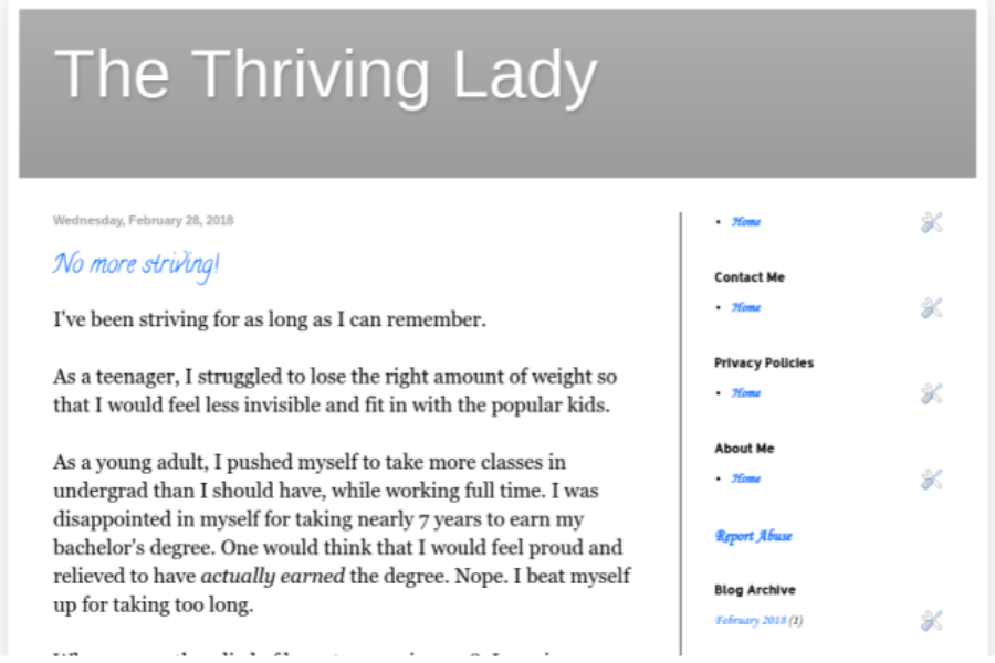 My first blog post using Blogger