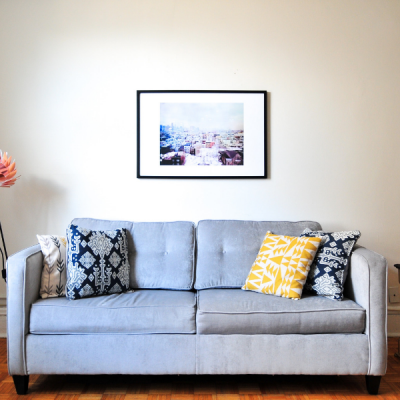 Picture of a simple living room
